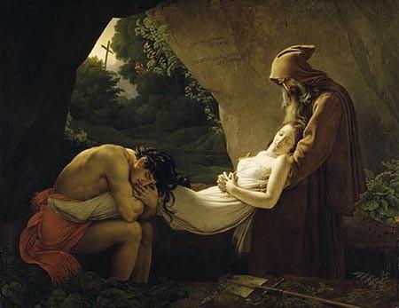 Atala au tombeau, dit aussi Funérailles d'Atala