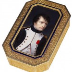 Portrait of Napoleon (miniature set on a box)