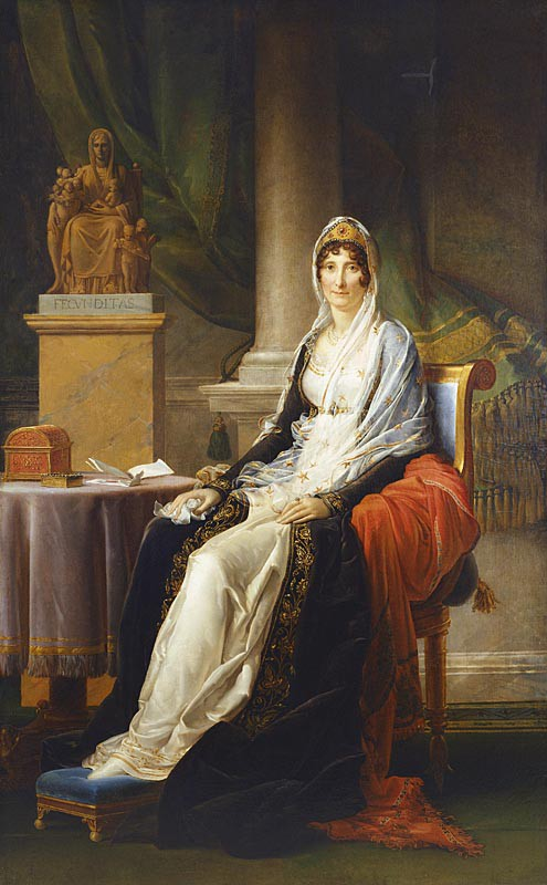 An exceptional portrait of Madame Mère by Gérard up for auction at Sotheby's