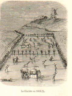 Napoleonic pages: Le vrai patineur (The true skater), Delespinasse, 1813