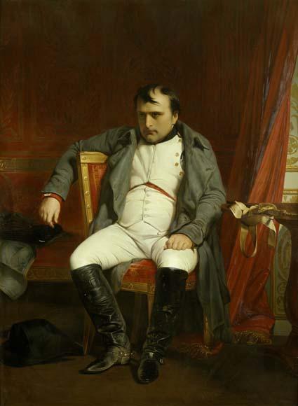Napoléon Ier à Fontainebleau le 31 mars 1814 - napoleon.org