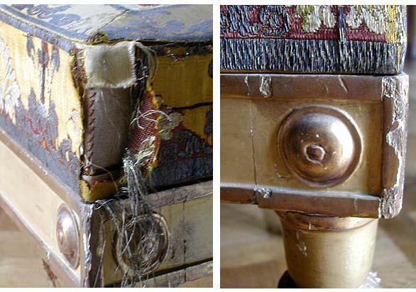 Mobilier du Salon doré : détails