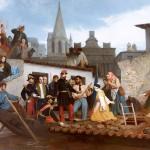 L'Empereur visitant les inondés de Tarascon (juin 1856)