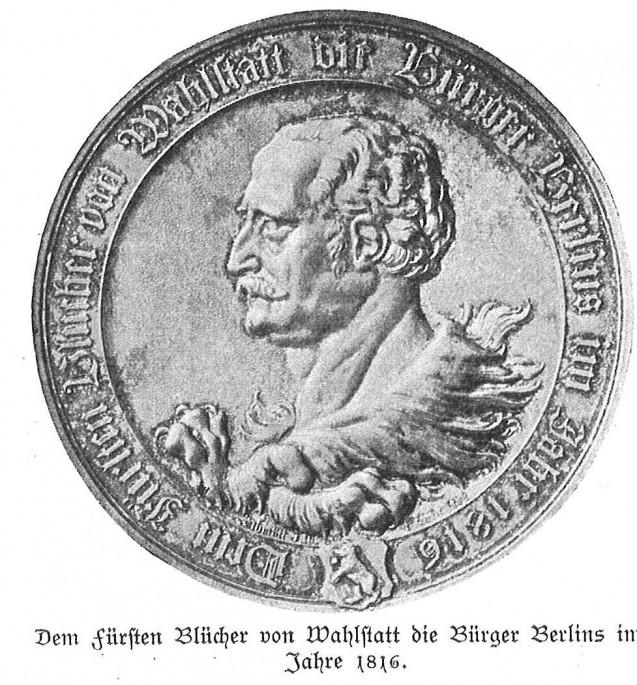 Blücher von Wahlstadt (Wahlstatt), Generalfeldmarschall Gebhard Leb(e)recht Fürst  (1742-1819)