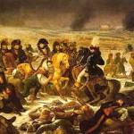 Napoléon visitant le champ de bataille d'Eylau, 9 février 1807