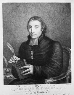 DE COLOGNA, Abraham Vita (1754-1832), premier grand rabbin de France