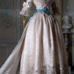 La robe de bal de Marie-Louise et sa traîne