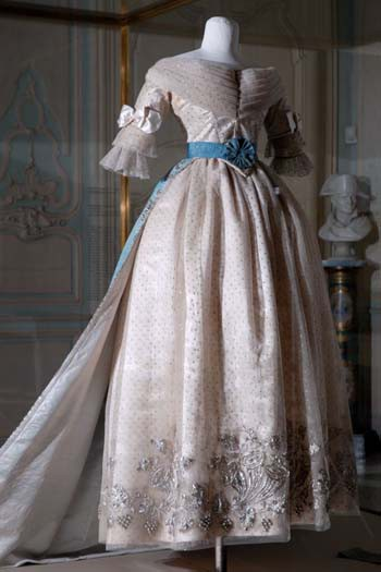 Marie-Louise's Ball Gown and Train