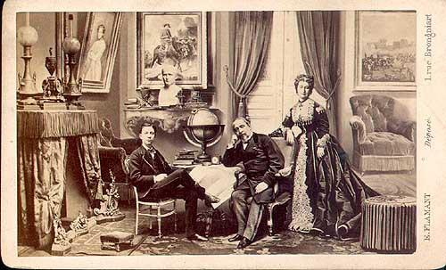 The imperial family at Chislehurst