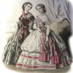 Toilettes de jeunes filles (1860)