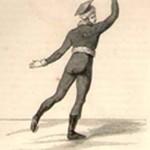 Curiosités : Le vrai patineur, Delespinasse, 1813