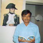 Professor Vijaya Kumar, president of the Napoleonic Society of Karnataka