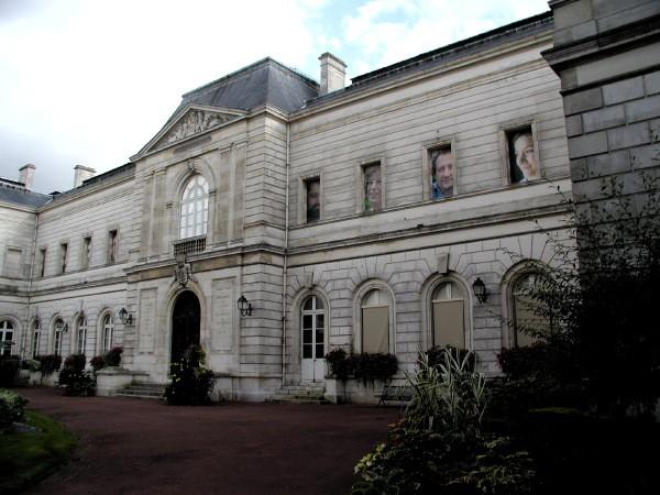 Façade du Musée Girodet de Montargis