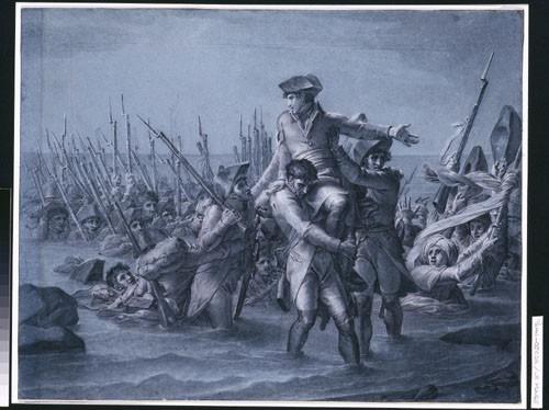 Lemire, Débarquement de Bonaparte en Egypte, Palais des Beaux-Arts de Lille. (C) RMN, Ojéda
