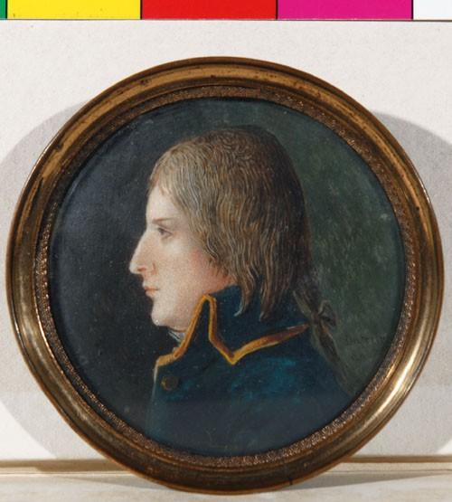 Dutertre, Portrait de Bonaparte sur l'Orient, Fondation Dosne-Thiers. (C) Bibliothèque Thiers, Nagy