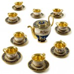 An Egyptian tea-service
