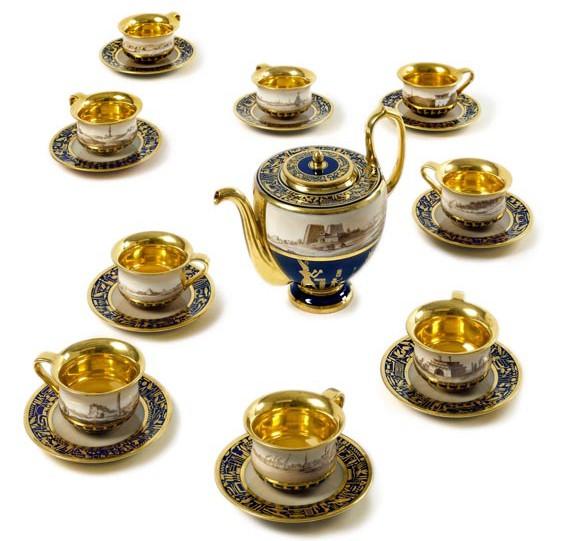 An Egyptian tea-service