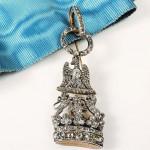 Croix de l'ordre de la Couronne de Westphalie de Jérôme Bonaparte