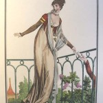 The female outfit during the First Empire