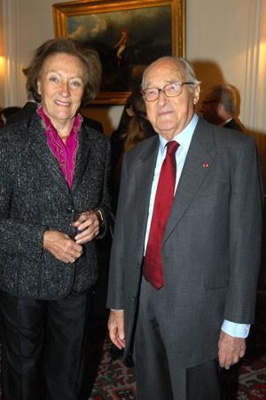 HIH the Princess Napoleon and Alain Decaux © Fondation Napoléon