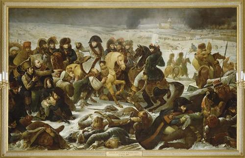 Gros, La bataille d'Eylau, Musée du Louvre. © RMN.