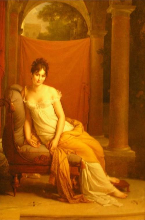 Gérard, Madame Récamier, Musée Carnavalet. Photo de l'auteur.