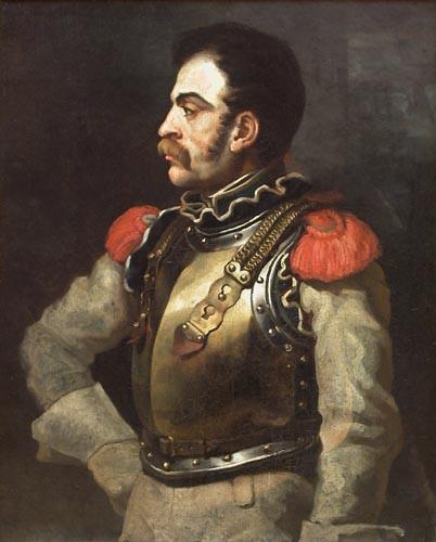 Géricault, Carabinier, Musée du Louvre. © RMN.