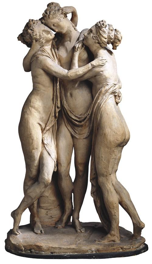 Les Trois Grâces, par Canova