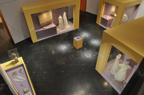 The exhibition rooms
