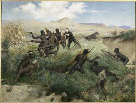 Mort du Prince impérial au Zoulouland, 1er juin 1879