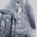 Toilette de mariage de l'Impératrice Eugénie