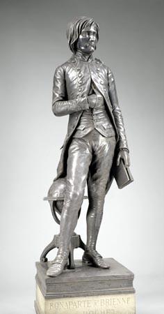 Napoléon Bonaparte, élève de l'École royale militaire de Brienne, à l'âge de 15 ans