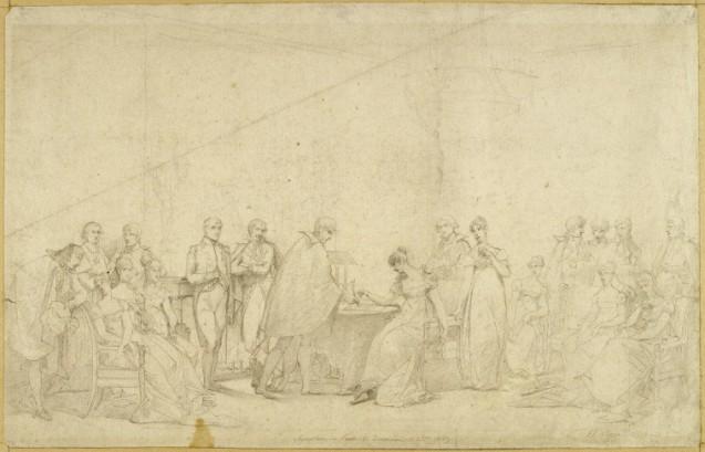 """1804 – 1810 : les différentes étapes conduisant au """"divorce"""" de Napoléon Ier et de l'impératrice Joséphine"""