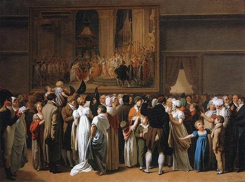 L 39 exposition du tableau du sacre de napol on ier de david for Salon du master