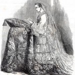 The Empress of the French, In her Bridal Costume.