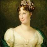 Portrait en buste de l'impératrice Marie-Louise