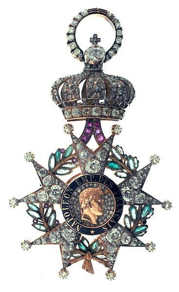 Insigne de grand-croix réputé ayant appartenu à Napoléon III