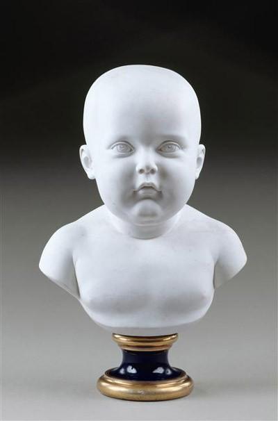 Buste du Roi de Rome, à l'âge de dix mois