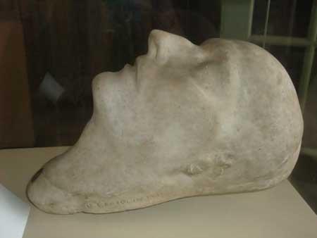 Napoleon I's death mask © Fondation Napoléon