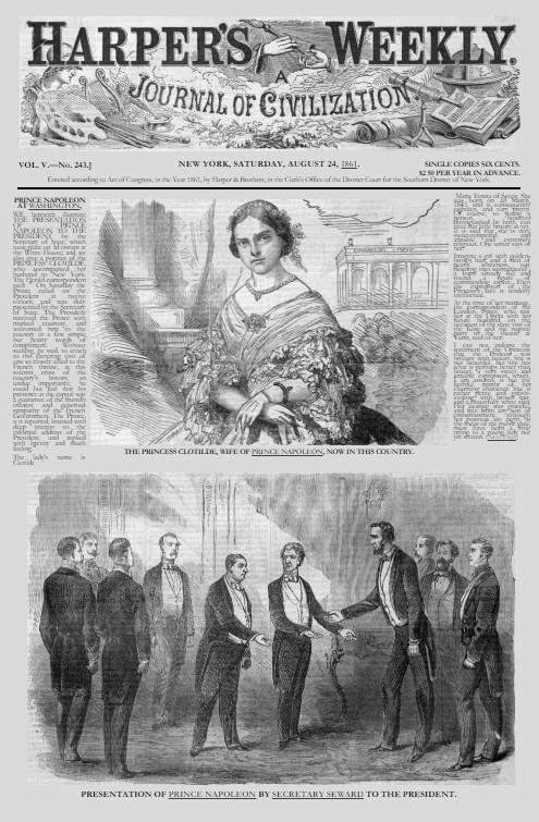 Harper's Bazaar, August 24 1861