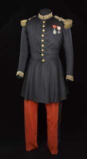 Uniforme porté par Napoléon III à Solférino © Musée de l'Armée - Paris, distr. RMN / E. Cambier