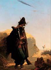 Volontaire des légions de Garibaldi, Induno © Museo del Risorgimento, Milan/ Officina dell'Imagine