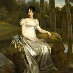 Portrait de Bernardine-Eugénie-Désirée Clary, princesse de Pontecorvo