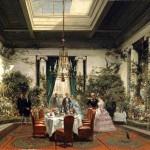 La salle à manger de S.A.I. la princesse Mathilde