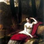 L'impératrice Joséphine dans le parc de Malmaison