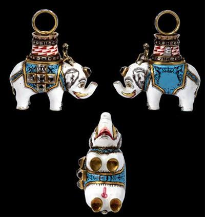 Bijou de chevalier de l'ordre de l'Éléphant de Napoléon Ier
