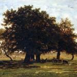 Groupe de chênes, Apremont