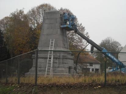 Restauration du Monument des Belges © Yves Vander Cruysen