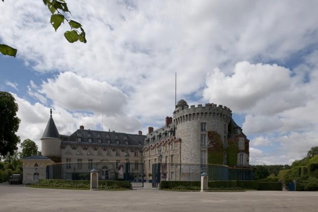 Château de Rambouillet, cour d'honneur © chateau-rambouillet.fr