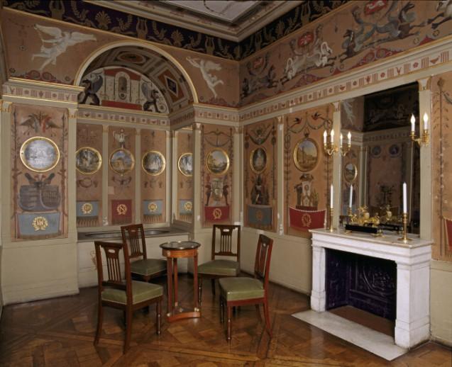 Salle de bain de l'Empereur au château de Rambouillet © Centre des Monuments nationaux
